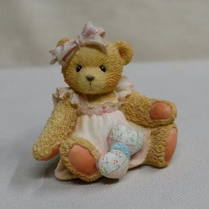 """Cherished Teddies """"Amy"""" Quilted Hearts Figurine"""
